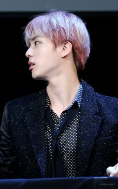 His side profile is...