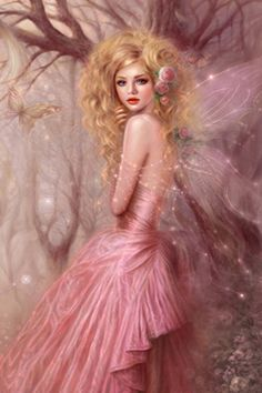 Pink fairy with Pink Wings