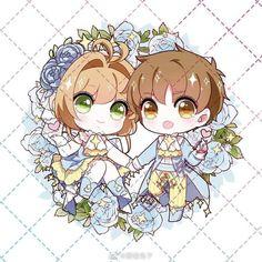 Anime Chibi, Kawaii Anime, Manga Anime, Card Captor, Chibi Characters, Cute Art Styles, Accesorios Casual, Cardcaptor Sakura, Anime Films
