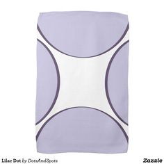 Lilac Dot Towel