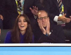Catherine, Duchess of Cambridge and Prince William, Duke of Cambridge attend the Rugby World Cup 2016 match