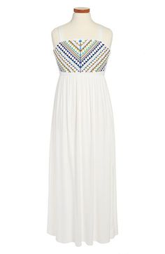 Roxette Embellished Maxi Dress (Big Girls) available at #Nordstrom
