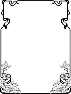 Clip Art Page Borders | Free Black and White Clip Art Borders 022812 ...