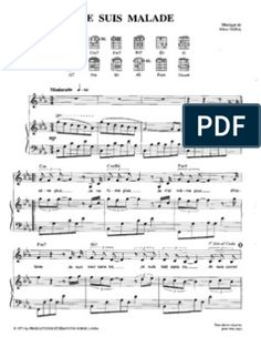 Les Mots Bleus - Christophe.pdf I Quit, Saxophone, Sheet Music, Articles, Usa Songs, Joe Dassin, Piano Music, Indian, Saxophones