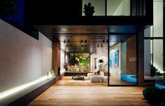 Open plan home