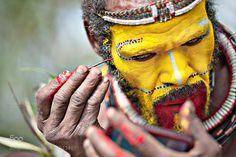 Huli tribe, Papua New Guinea by marziafranceschini