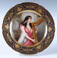 Royal Vienna Porcelain (Austria) — Art Nouveau Porcelain (807x872)
