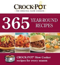 #MyCookBookCorner  Crock-Pot 365 Year-Round Recipes by Editors of Favorite Brand Name Recipes...  ~XOX  http://www.amazon.com/dp/145082336X/ref=cm_sw_r_pi_dp_U8tusb09ZJPJ4YZJ