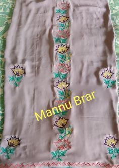 Embroidery Suits Punjabi, Embroidery Suits Design, Embroidery Fashion, Beaded Embroidery, Embroidery Patterns, Hand Embroidery, Indian Suits, Indian Wear, Dress Shirts For Women