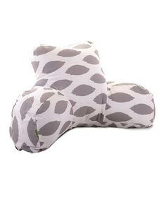 Take a look at this Storm Gray Alli Reading Pillow by Majestic Home Goods on #zulily today!