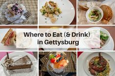 Gettysburg food ranges from upscale comfort food to farm-to-table to ethnic. There are so many options to choose from. Here's where to eat in Gettysburg.
