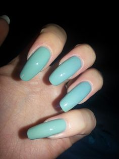 OPI Mermaids Tears. I want this strictly for the name :p