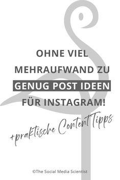 In diesem Beitrag findest du heraus, wie du immer genug Post Ideen für Instagram auf Lager hast!, ohne Stunden damit zu verbringen. Workshop, Work Life Balance, Motivation, Entrepreneur, Social Media, Marketing, Facebook, Organization, Earn Money