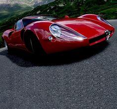 Alfa Romeo 33 Stradale #CarFlash