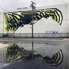 German Artist 1010 Creates Stunning Cavernous 3D Murals.|FunPalStudio|Illustrations, Entertainment, Artist, drawings, paintings, beautiful, creativity, nature, Art, Artwork, street art, 3D street art, murals, Cavernous murals.