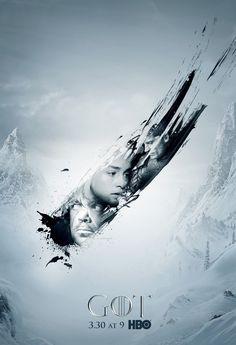 Arte de divulgação de Game Of Thrones