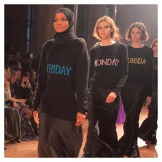 "2,179 Likes, 25 Comments - Vogue Arabia (@voguearabia) on Instagram: ""Halima Aden walks the @albertaferretti runway at #MFW.  العارضة حليمة عدن في عرض مجموعة ألبيرتا…"""