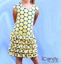 Free pattern: Layers of Sunshine dress for little girls | Sewing | CraftGossip.com