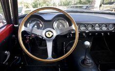 1960 FERRARI 250 GT SWB ALLOY COMPETIZIONE - Nardi Steering Wheel and Dashboard