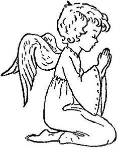 Praying Angel Clip Art