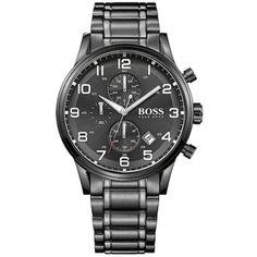 9fe1935631cc HUGO BOSS WATCH AEROLINER CHRONO 44mm 1513180 Hugo Boss Watches