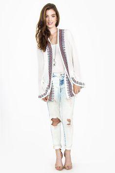Wandering Soul Jacket   Haute Attitude #hippie #kimono #boho #fashion