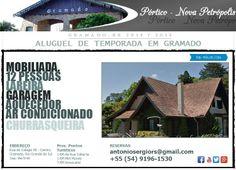 Pontos-Turísticos Gramado-RS-Pórtico-Entrada-Via-Nova-Petrópolis-Gramado