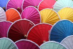 .paper umbrellas.             t