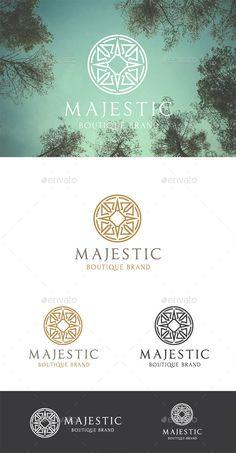 Majestic Brand Logo Template #design Download: http://graphicriver.net/item/majestic-brand/10023178?ref=ksioks