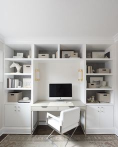 So make sure you design your home office exactly how you want from the perfect colors, . See more ideas about Desk, Home office decor and Home Office Ideas. Office Nook, Guest Room Office, Home Office Space, Home Office Design, Home Office Decor, Home Decor, Office Designs, Office Style, Home Office Furniture Ideas