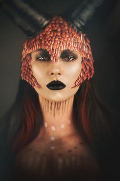 Chris Panas Photography - Ula Bankiewicz - mua is model