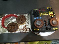 Mixing Deck Cake