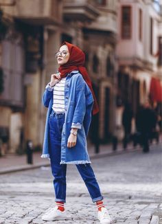 Cute Clothes For College Girls Hijab Casual, Casual Dresses, Casual Outfits, Cute Outfits, Fashion Outfits, Women's Fashion, Modern Hijab Fashion, Hijab Fashion Inspiration, Muslim Fashion