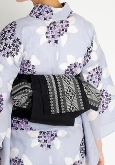 【楽天市場】くるりの半幅帯【kogin/ブラック】:くるり SHIKKI 楽天市場店