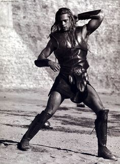 Brad Pitt as Achilles, Troy (2004)