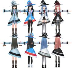 Image result for hyperdimension neptunia mages