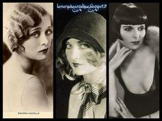 Le tre attrici più di tendenza negli anni 20 Dolores Costello - Carole Lombard - Louise Brooks