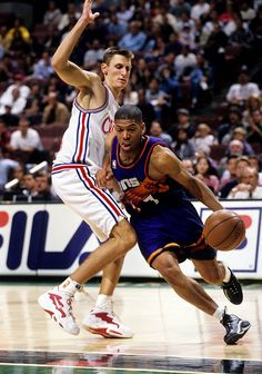 Arguably one of the top ten point guards of all time: The Phoenix Suns' Kevin Johnson.