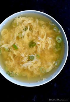 Quick and Easy Egg Drop Soup Recipe This recipe can be made in about 10 minutes!