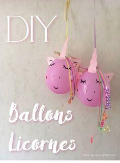 DIY déco anniversaire licorne: Les ballons licornes! - Allo Maman Dodo Colorful Birthday Party, Diy Birthday, Unicorn Birthday, Birthday Gifts, Diy Unicorn, Unicorn Balloon, Cheap Wedding Invitations, Party Invitations, Diy Gifts For Dad