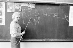 Teacher explains how a Sunscope works.
