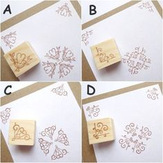 Rubber stamps Wedding invitations DIY by JapaneseRubberStamps
