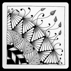 https://flic.kr/p/A8MRFN | Zentangle Hill | Zentangle