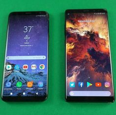 Samsung Galaxy S8 and the Galaxy note 8