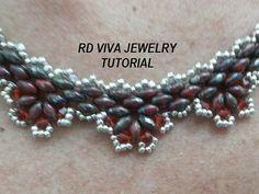Tutorial San Diego Halskette von RDVIVAJEWELRY auf Etsy