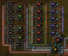 Very compact Blue Circuit/Processing Unit factory (1 every 4 seconds)