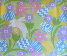 Easter Spring Fabric from David Textiles By by SuesFabricNSupplies, $9.95