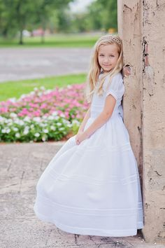 Angelica, First Communion Session like the portrait
