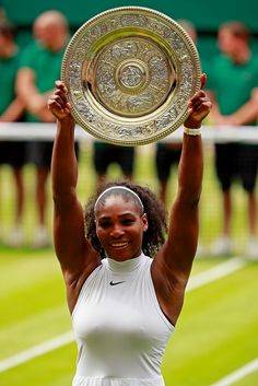 5462a03f52138 Congratulations to Serena Williams for winning Wimbledon 2016 (her 7th)  during the Ladies Singles