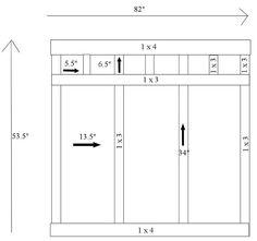 board amp batten tutorial, diy, how to, wall decor, Diagram for Bathroom Board Batten